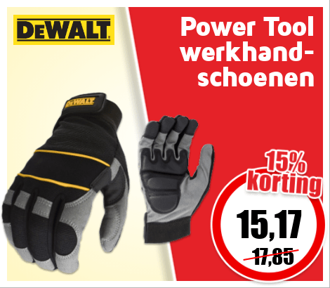 HM33_470x410 | Front cover deal Power Tool werkhandschoenen #2-2