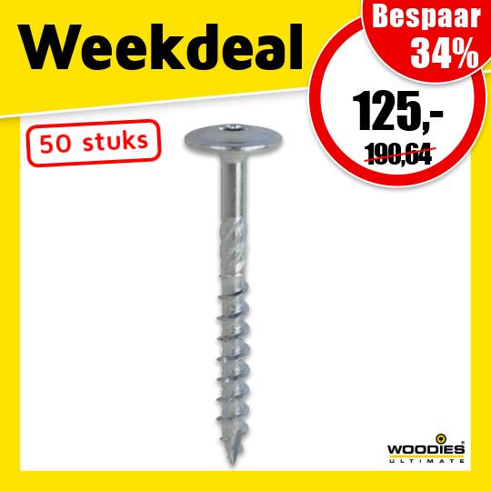 Weekdeal 38 - Woodies schroeven #1