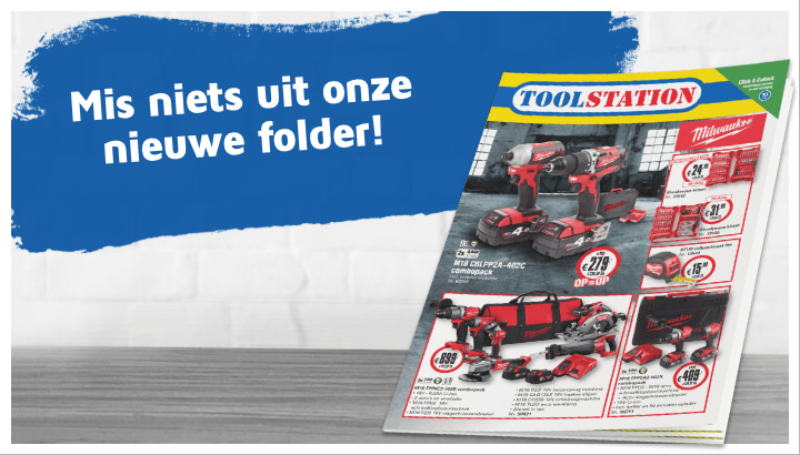 Toolstation investeert in 'power' #1