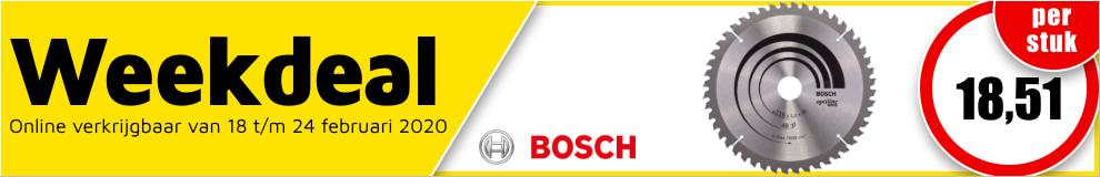 Weekdeal8 - Bosch optiline cirkelzaagblad #1
