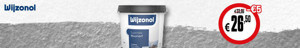 DPT100_990x160 | Wijzonol deal - Verf & accessoires #1-1