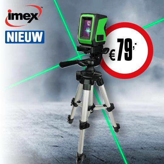 Cat72 Back cover - Imex Kruislijnlaser new Product nr.21327