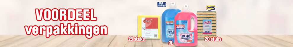 DPT100_990x160   Blue Wonder deal - Reinigen & Onderhoud #1-1