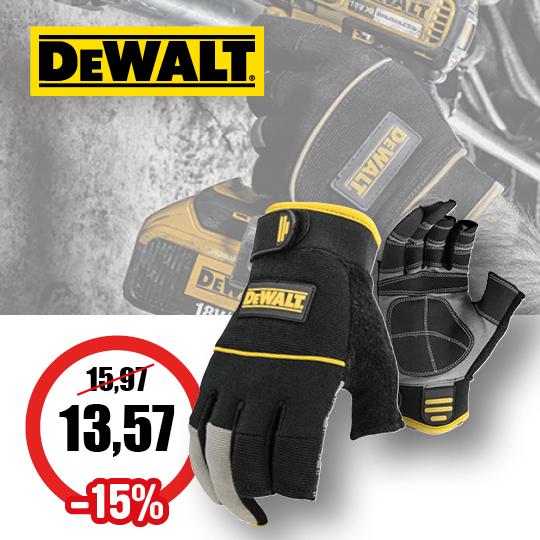 Cat72 Front Cover DeWalt handschoenen Product nr.13714