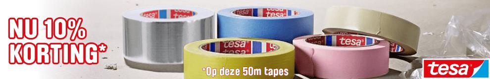 DPT100_990x160 | Tesa 50m tapes deal - Lijmen, Kitten & Tapes #1-2