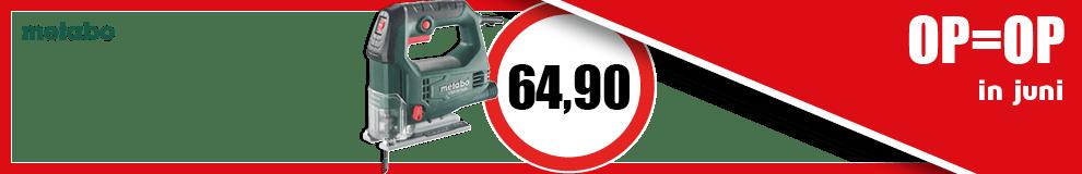 DPT100_990x160 | Maanddeal juni - Metabo decoupeerzaagmachine - Elektrisch gereedschap #1-3
