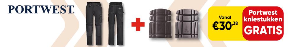 DPT100 | LP - Portwest broek met gratis kniestukken - Werkkleding en PBM 1-3