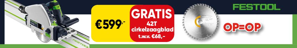 DPT100   P8 - Festool zaag gratis zaagblad - Elektrisch gereedschap 1-5