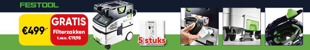 DPT100   P8 - Festool zuiger gratis zakken - Elektrisch gereedschap 1-4