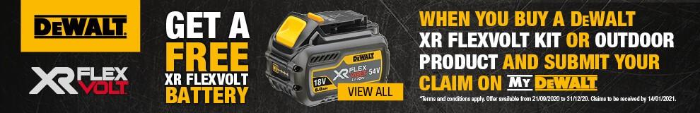 DeWalt FlexVolt Offer - View All