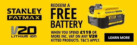 Redeem a free battery. Find out More