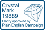Crystal mark 19889