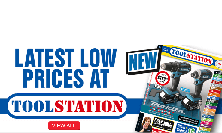 Lowest Low Prices at Toolstation