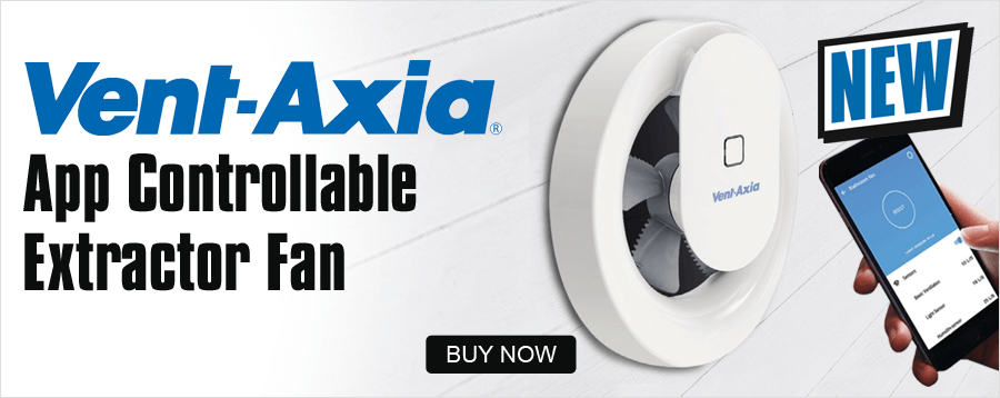 Vent Axia App Controllable Extractor Fan