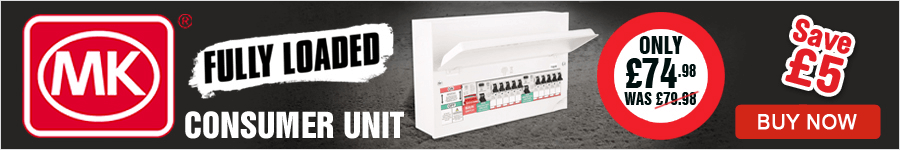 Fully Loaded Consumer Unit