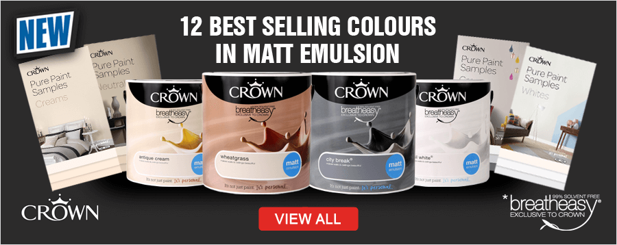 Crown Breatheasy Colour Matt Emulsion