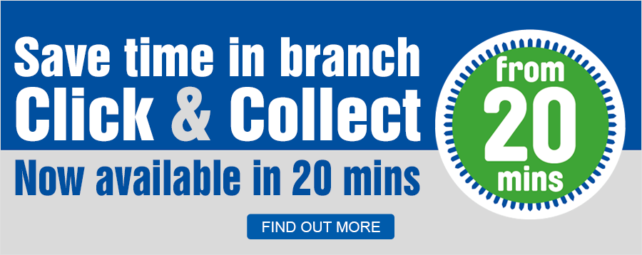 Click & Collect Now Available In 20 Mins