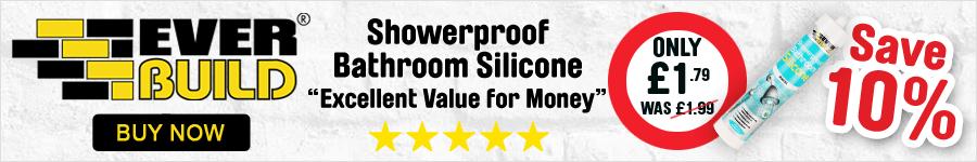 Showerproof Bathroom Silicone - Save 10%