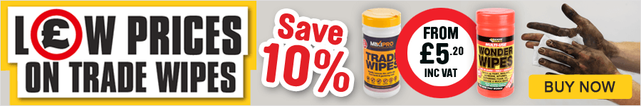 Low Prices On Trade Wipes - Save 10%