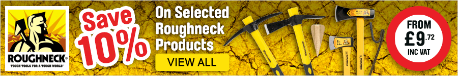 Save 10% on selected Roughneck products