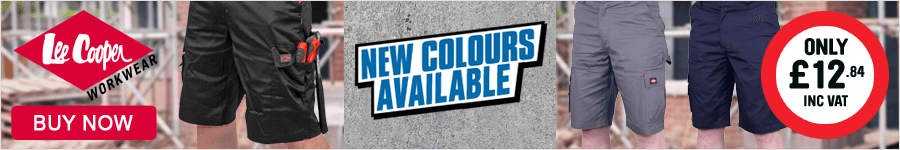 Lee Cooper Shorts - New Colours Available