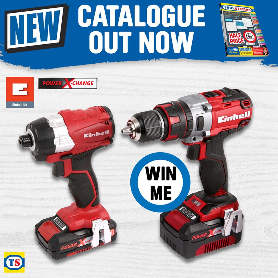 Einhell 18V Twin Pack Competition Terms & Conditions