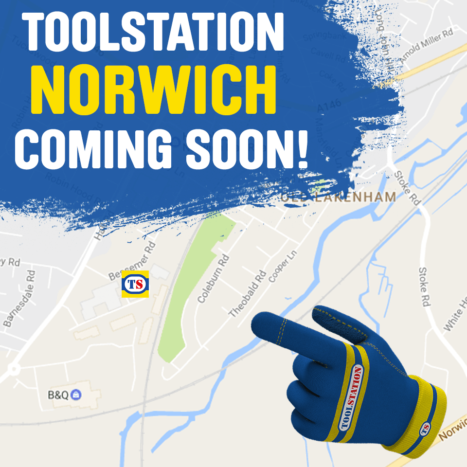 Norwich Toolstation Coming Soon