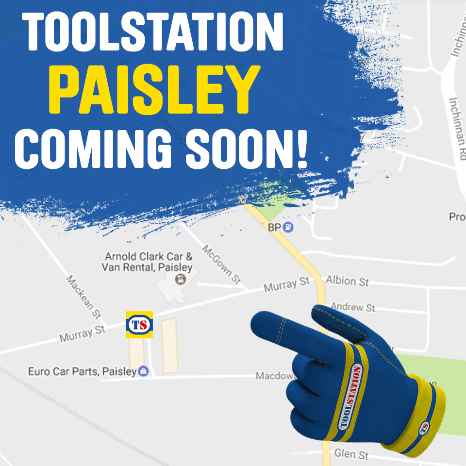 Paisley Toolstation Coming Soon