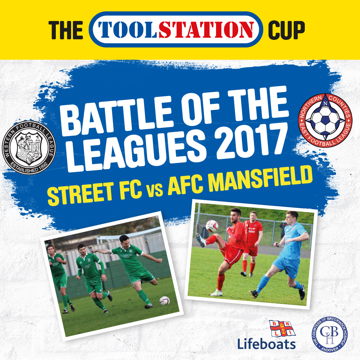 The Toolstation Cup - Charity Football Match - 22nd July 2017