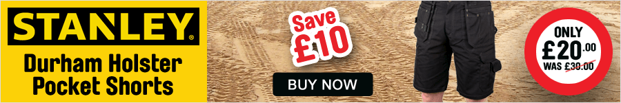 "Save £10 On Stanley Shorts"" width="