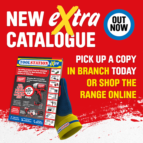 Toolstation Extra Catalogue Out Now