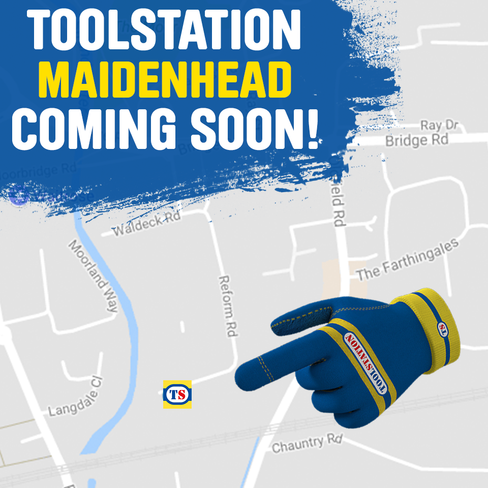 Maidenhead Toolstation Coming Soon