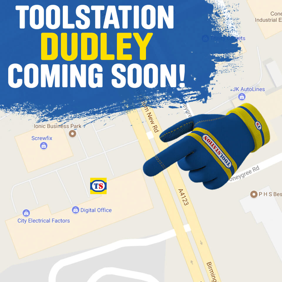 Toolstation Great Bridge is re-locating to Dudley