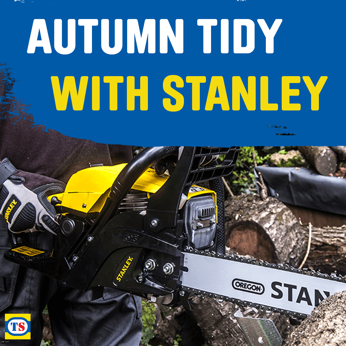 Autumn Tidy with Stanley Garden Tools