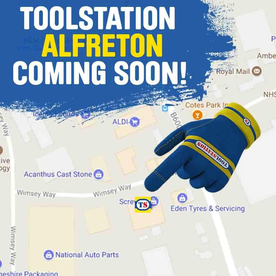 Alfreton Toolstation Coming Soon