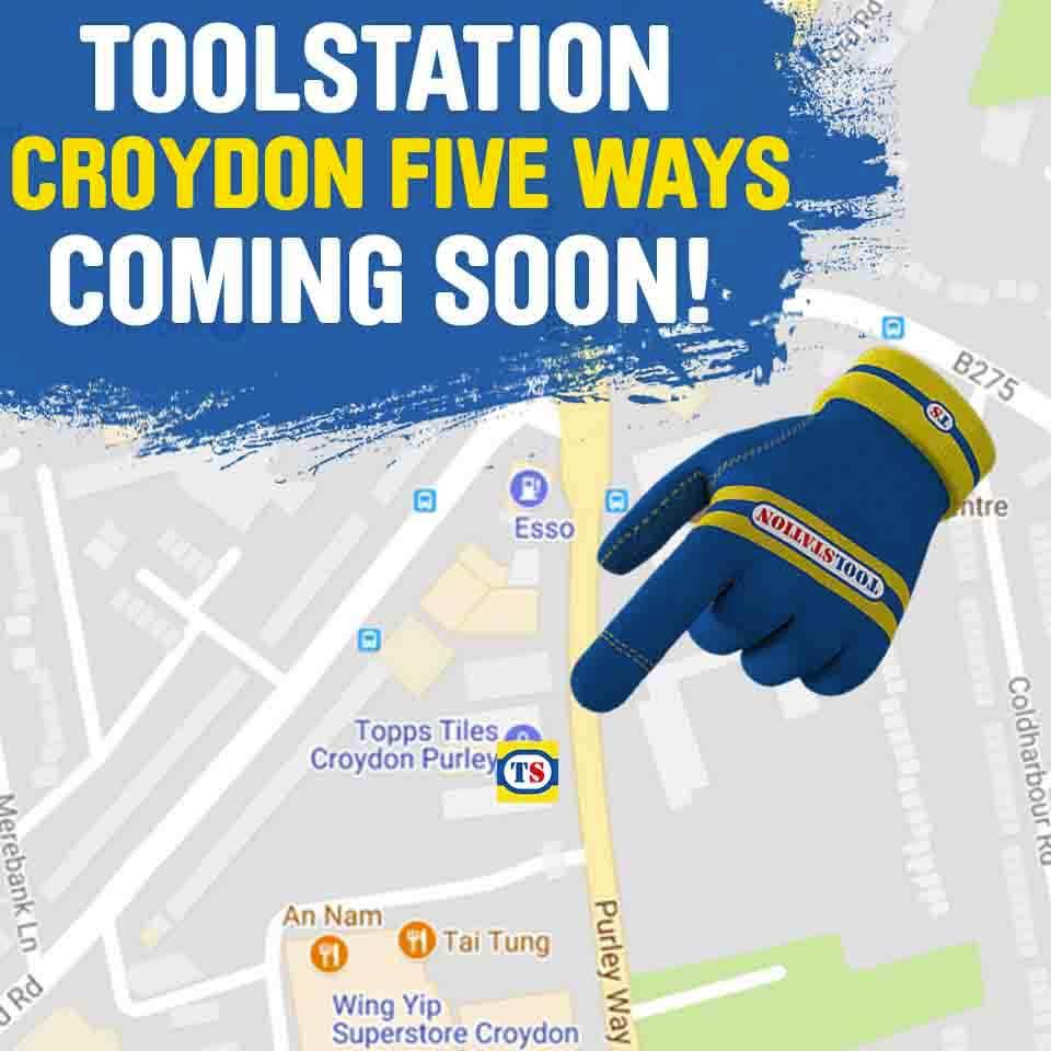 Croydon Five Ways Toolstation Coming Soon