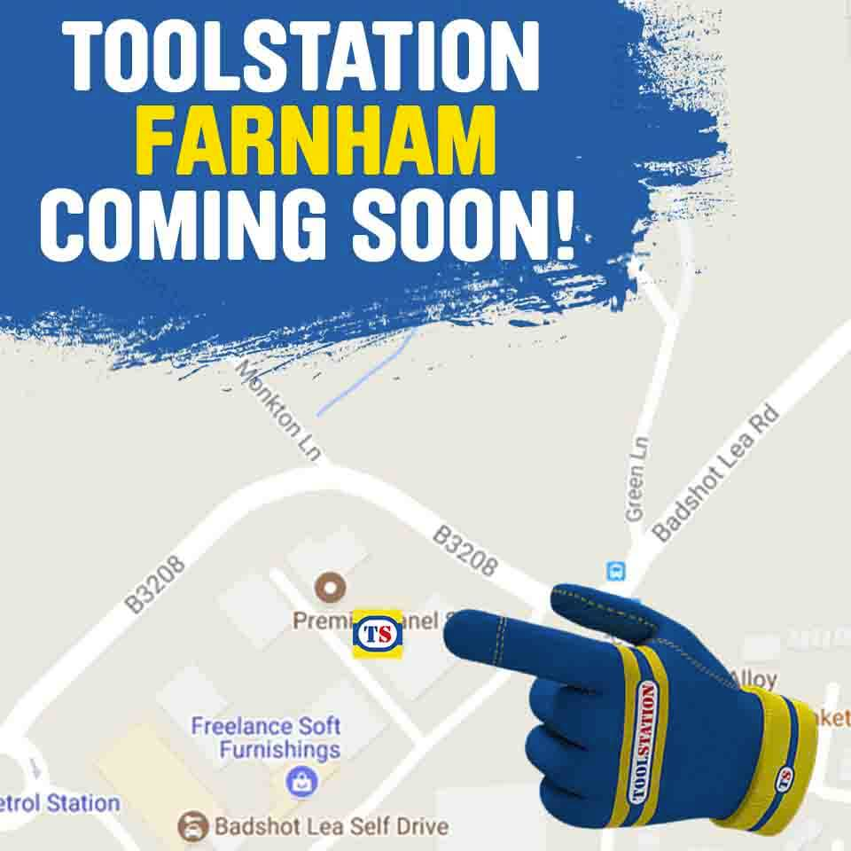 Farnham Toolstation Coming Soon