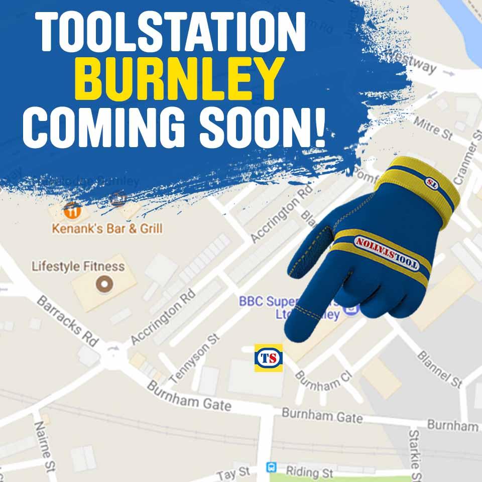 Burnley Toolstation Coming Soon