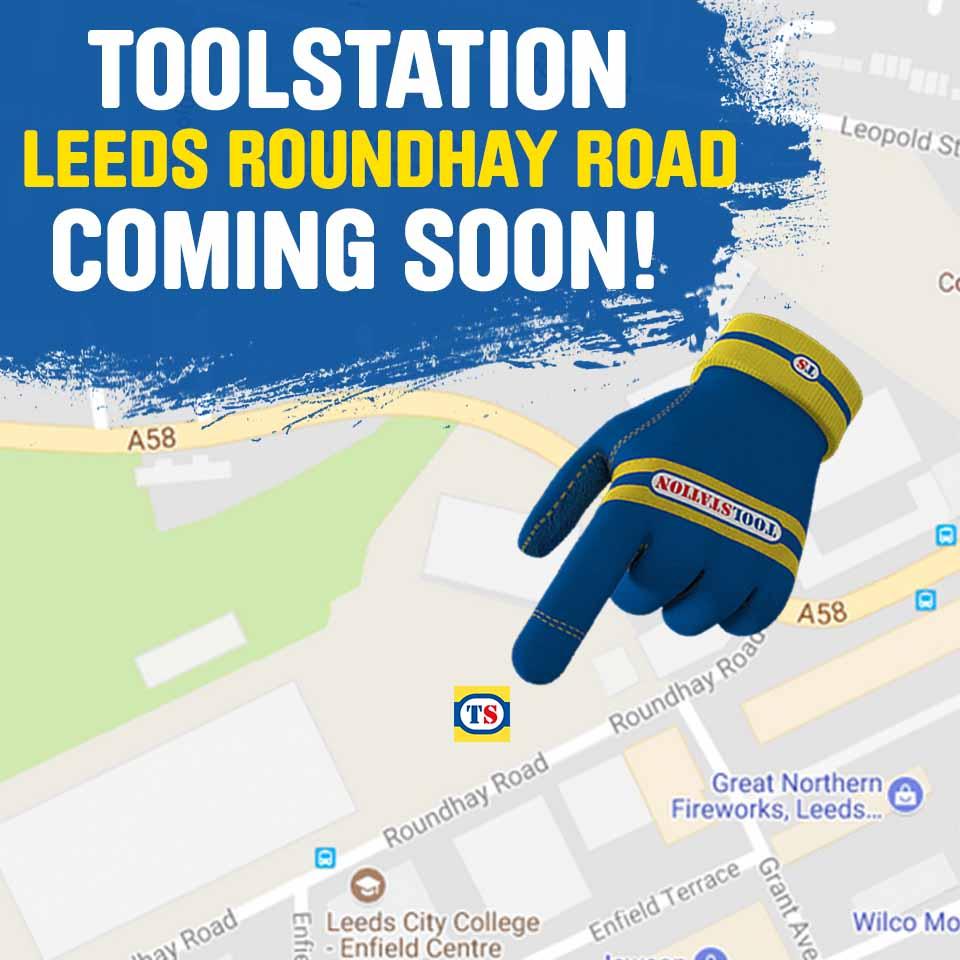 Leeds Roundhay Road Toolstation Coming Soon