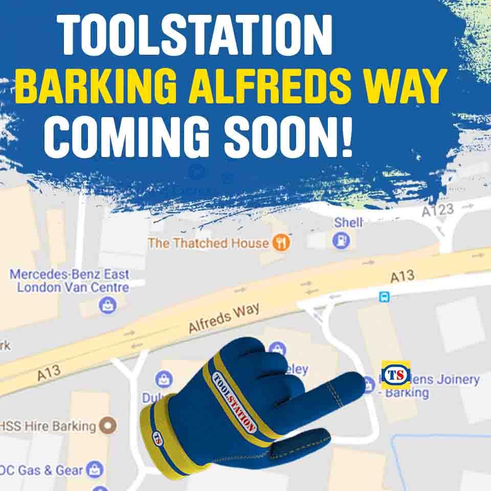 Barking, Alfreds Way Toolstation Coming Soon