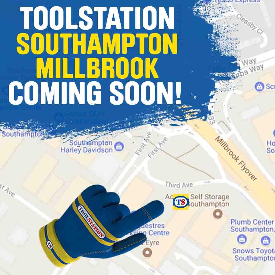 Southampton Millbrook Toolstation Coming Soon