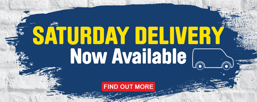 Saturday delivery available