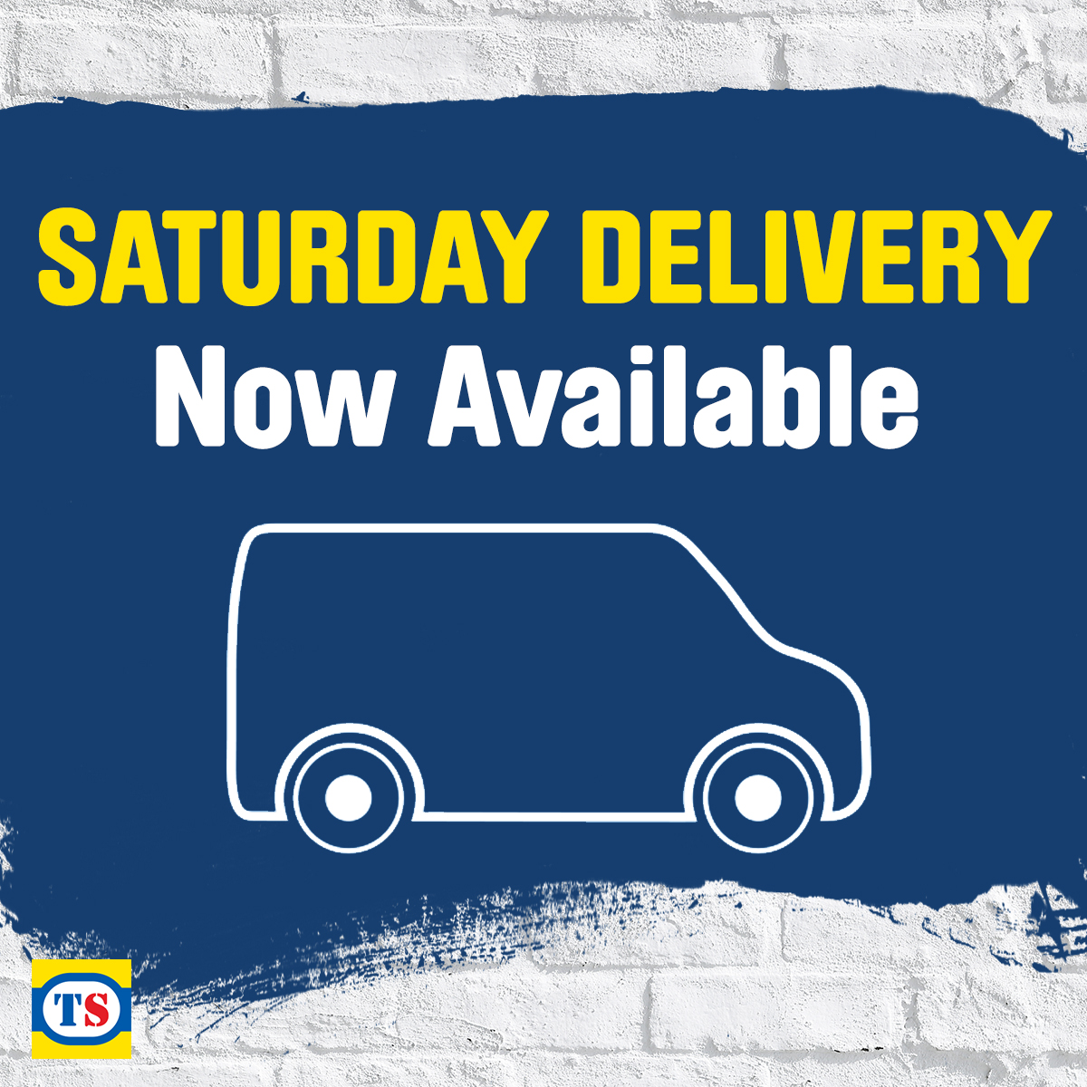 Toolstation now deliver on Saturday's