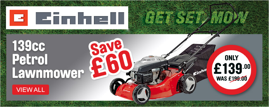 Einhell Petrol Lawnmower Only £139.00
