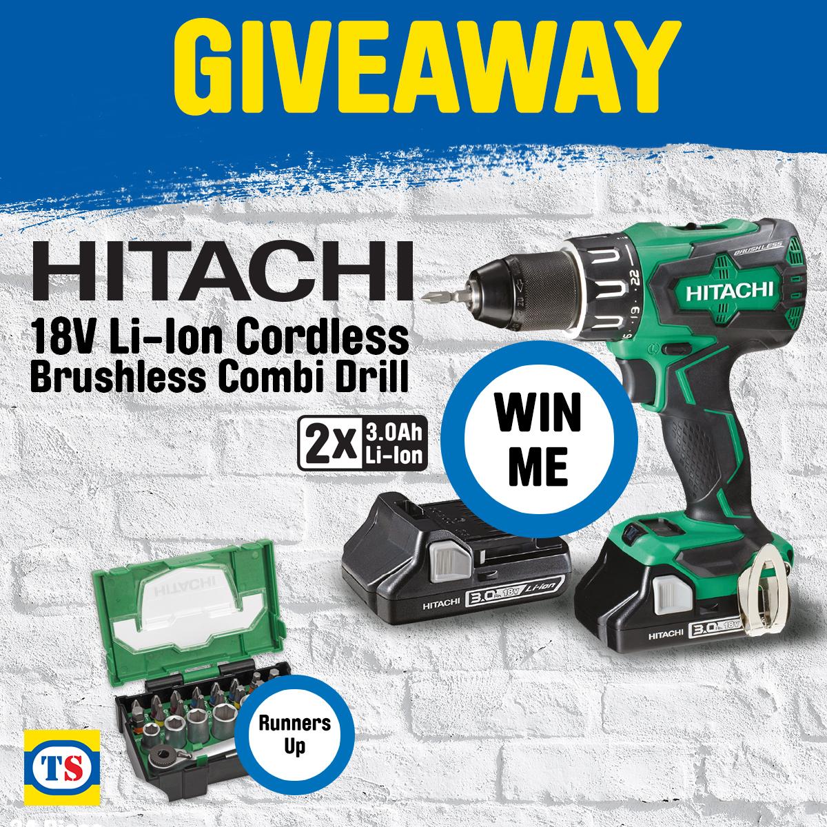 Hitachi Giveaway