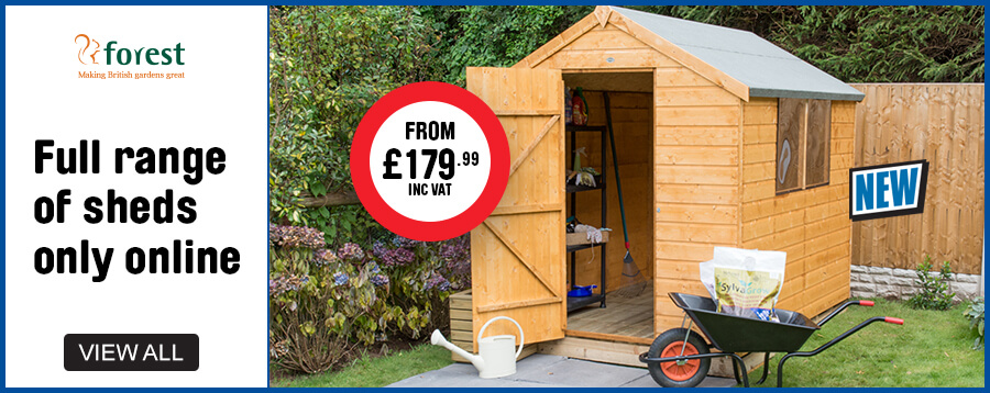 new forest sheds