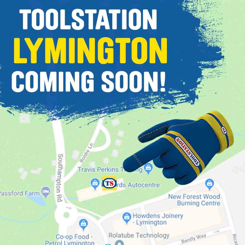 Lymington Toolstation Coming Soon