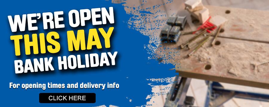Late May Bank Holiday Opening Times