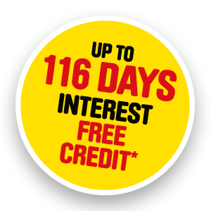 116 Days Interest Free at Toolstation