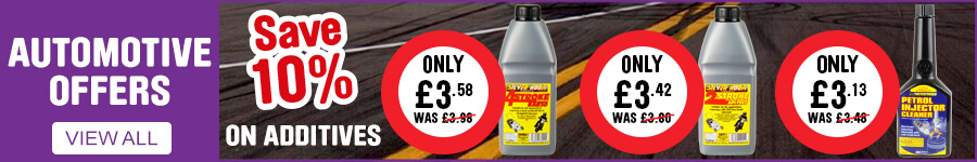 Automotive Offers - Save 10% on Additives